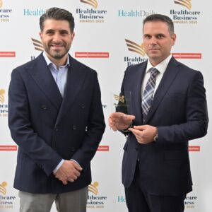Βράβευση Institute of Life Healthcare Business Awards 2020 Κωνσταντάκης Νικητός